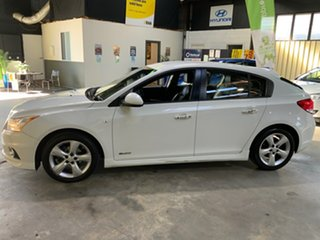 2012 Holden Cruze JH Series II MY12 SRi-V White 6 Speed Sports Automatic Hatchback