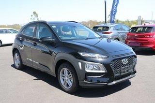 2020 Hyundai Kona OS.3 MY20 Active 2WD Phantom Black 6 Speed Sports Automatic Wagon.