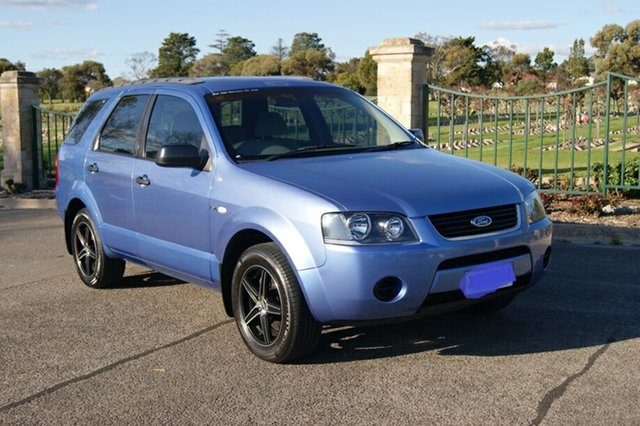 Used Ford Territory SX TX (4x4) Blair Athol, 2004 Ford Territory SX TX (4x4) Blue 4 Speed Auto Seq Sportshift Wagon