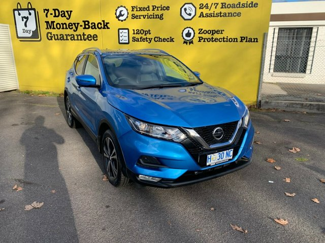 Used Nissan Qashqai J11 Series 2 ST-L X-tronic, 2018 Nissan Qashqai J11 Series 2 ST-L X-tronic Vivid Blue 1 Speed Constant Variable Wagon