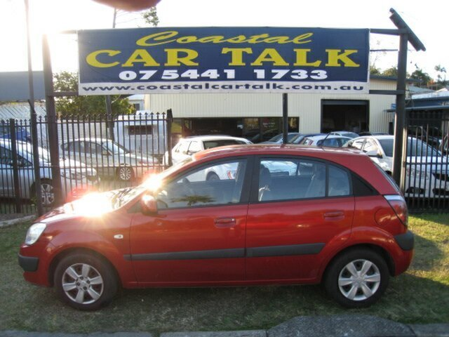 Used Kia Rio JB MY10 S, 2009 Kia Rio JB MY10 S Orange 4 Speed Automatic Hatchback