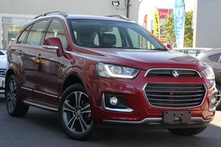 2016 Holden Captiva CG MY16 LTZ AWD Red 6 Speed Sports Automatic Wagon.