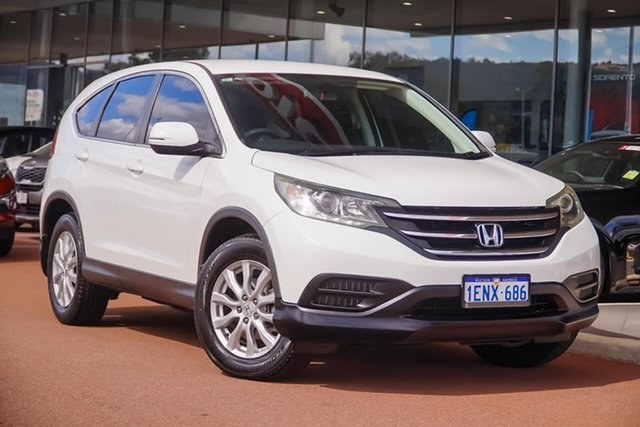 Used Honda CR-V RM MY15 VTi Navi, 2014 Honda CR-V RM MY15 VTi Navi White 5 Speed Automatic Wagon