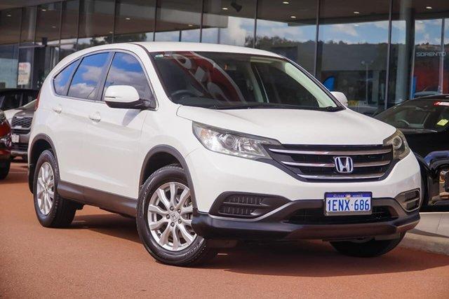 Used Honda CR-V RM MY15 VTi Navi Gosnells, 2014 Honda CR-V RM MY15 VTi Navi White 5 Speed Automatic Wagon