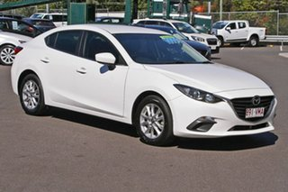 2014 Mazda 3 BM5278 Touring SKYACTIV-Drive White 6 Speed Sports Automatic Sedan.