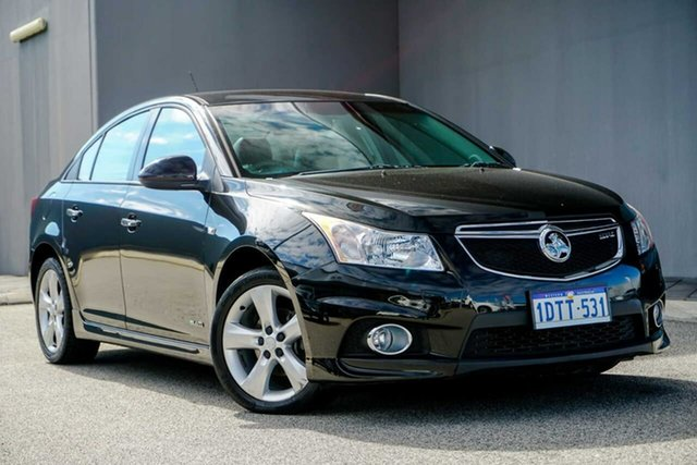 Used Holden Cruze JH Series II MY11 SRi-V, 2011 Holden Cruze JH Series II MY11 SRi-V Black/Grey 6 Speed Sports Automatic Sedan