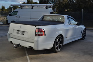 2016 Holden Ute VF II MY16 SV6 Ute Black Heron White 6 Speed Sports Automatic Utility