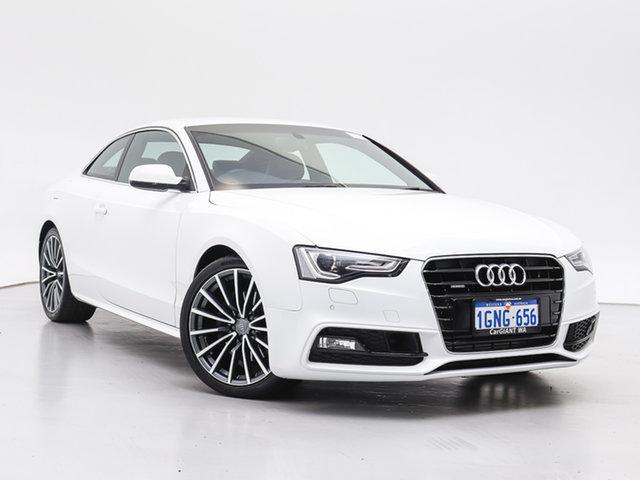 Used Audi A5 8T MY16 2.0 TFSI Quattro, 2017 Audi A5 8T MY16 2.0 TFSI Quattro White 7 Speed Auto Direct Shift Coupe