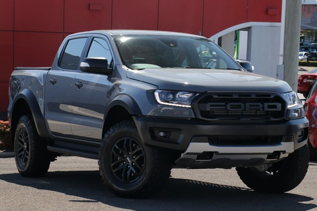 Used Ford Ranger PX MkIII 2019.75MY Raptor, 2019 Ford Ranger PX MkIII 2019.75MY Raptor Grey 10 Speed Sports Automatic Double Cab Pick Up