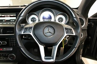 2014 Mercedes-Benz C250 W204 MY14 Magnetite Black 7 Speed Automatic G-Tronic Coupe
