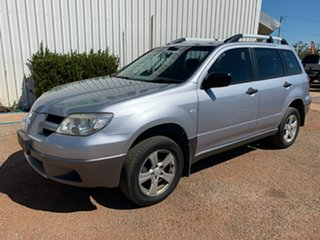 2005 Mitsubishi Outlander ZF LS Silver 4 Speed Sports Automatic Wagon.