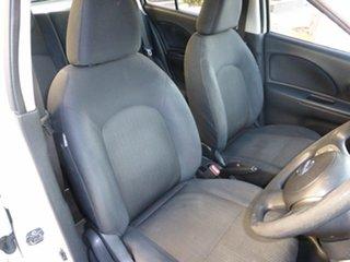 2011 Nissan Micra K13 ST White 4 Speed Automatic Hatchback