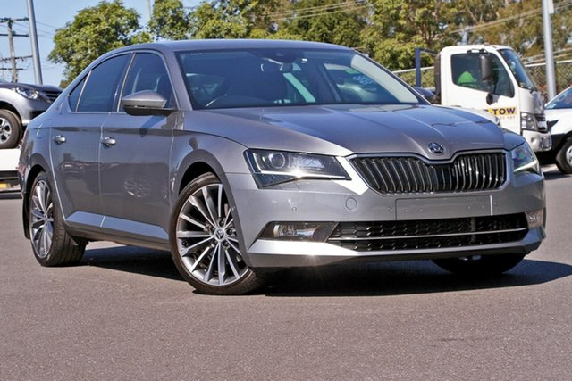 Used Skoda Superb NP MY16 206TSI Sedan DSG, 2016 Skoda Superb NP MY16 206TSI Sedan DSG Grey 6 Speed Sports Automatic Dual Clutch Liftback