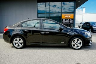 2011 Holden Cruze JH Series II MY11 SRi-V Black/Grey 6 Speed Sports Automatic Sedan.