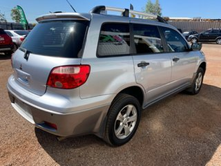 2005 Mitsubishi Outlander ZF LS Silver 4 Speed Sports Automatic Wagon