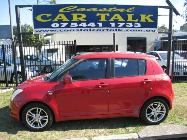 Used Suzuki Swift EZ , 2005 Suzuki Swift EZ Red 5 Speed Manual Hatchback
