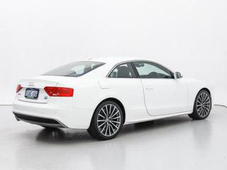 2017 Audi A5 8T MY16 2.0 TFSI Quattro White 7 Speed Auto Direct Shift Coupe