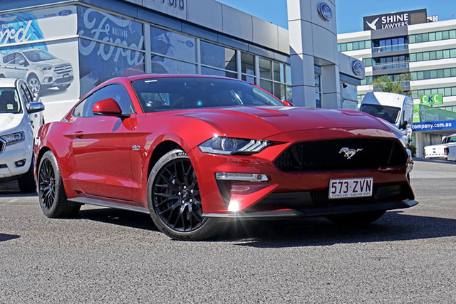 Used Ford Mustang FN 2018MY GT Fastback SelectShift, 2018 Ford Mustang FN 2018MY GT Fastback SelectShift Red 10 Speed Sports Automatic Fastback