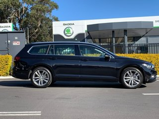 2020 Volkswagen Passat 3C (B8) MY20 140TSI DSG Business Black 7 Speed Sports Automatic Dual Clutch