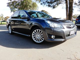 2010 Subaru Liberty B5 MY11 GT AWD Premium Dark Grey 5 Speed Sports Automatic Sedan.