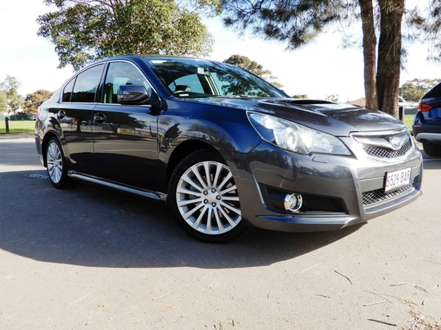Used Subaru Liberty B5 MY11 GT AWD Premium, 2010 Subaru Liberty B5 MY11 GT AWD Premium Dark Grey 5 Speed Sports Automatic Sedan