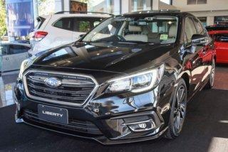 2020 Subaru Liberty B6 MY20 2.5i CVT AWD Premium Crystal Black 6 Speed Constant Variable Sedan.