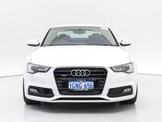 2017 Audi A5 8T MY16 2.0 TFSI Quattro White 7 Speed Auto Direct Shift Coupe.