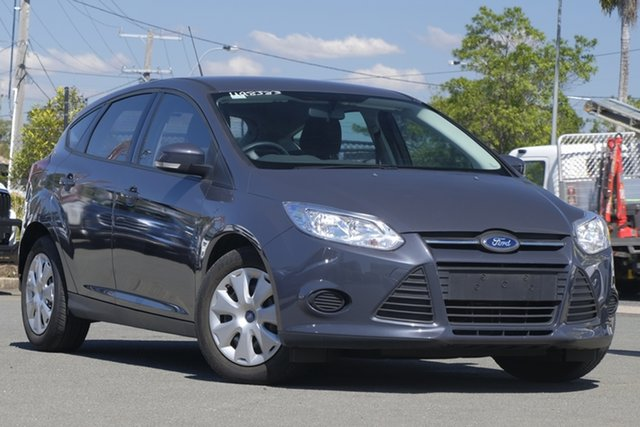 Used Ford Focus LW MkII MY14 Ambiente PwrShift, 2015 Ford Focus LW MkII MY14 Ambiente PwrShift Meteor Grey 6 Speed Automatic Hatchback