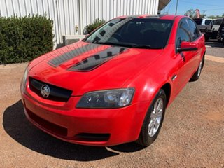 2009 Holden Commodore VE MY09.5 Omega Red 4 Speed Automatic Sedan.