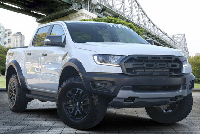 Used Ford Ranger PX MkIII 2019.75MY Raptor, 2019 Ford Ranger PX MkIII 2019.75MY Raptor White 10 Speed Sports Automatic Double Cab Pick Up
