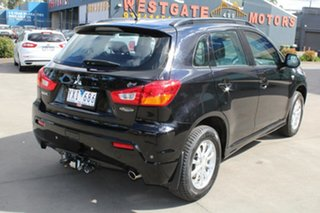 2012 Mitsubishi ASX XA MY12 Platinum Edition (2WD) Black Continuous Variable Wagon