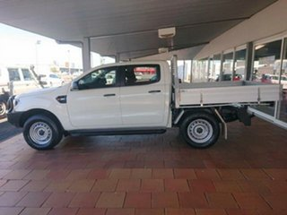 2016 Ford Ranger PX MkII XL 3.2 Plus (4x4) White 6 Speed Automatic Crew Cab Chassis
