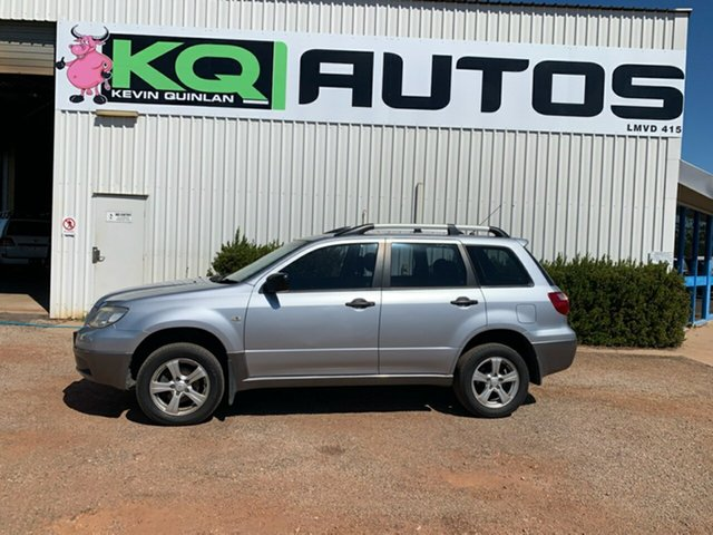 Used Mitsubishi Outlander ZF LS, 2005 Mitsubishi Outlander ZF LS Silver 4 Speed Sports Automatic Wagon