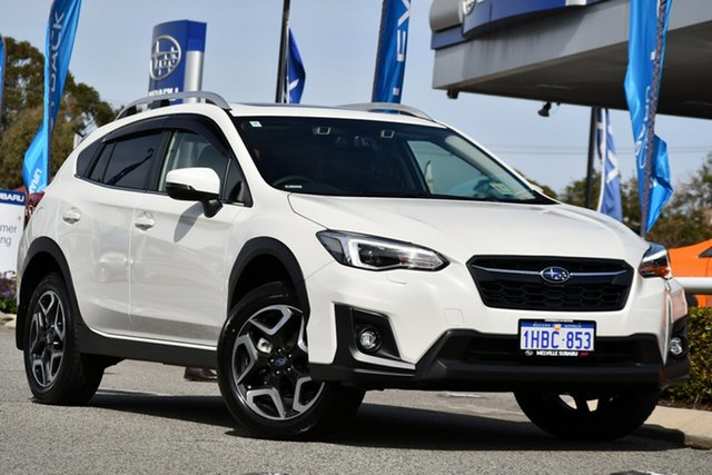 Demo Subaru XV G5X MY20 2.0i-S Lineartronic AWD, 2020 Subaru XV G5X MY20 2.0i-S Lineartronic AWD Crystal White 7 Speed Constant Variable Wagon