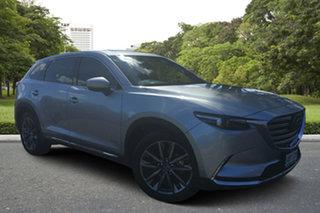 2019 Mazda CX-9 TC Azami SKYACTIV-Drive Sonic Silver 6 Speed Sports Automatic Wagon.