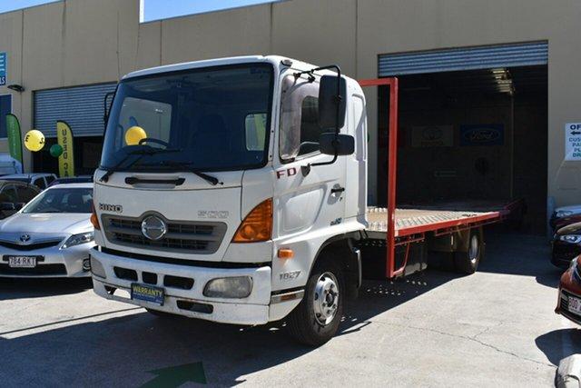 Used Hino 500 FD8J 1027 XLong Air Capalaba, 2008 Hino 500 FD8J 1027 XLong Air Cab Chassis 7.7l 4x2