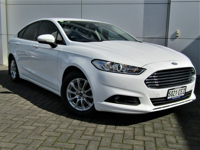 Used Ford Mondeo MD Ambiente, 2015 Ford Mondeo MD Ambiente White 6 Speed Sports Automatic Dual Clutch Hatchback