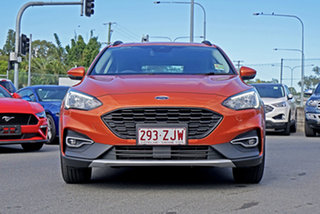 2019 Ford Focus SA 2019.25MY Active Orange 8 Speed Automatic Hatchback.