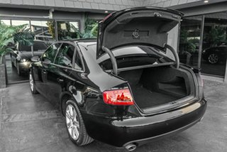 2009 Audi A4 B8 8K MY10 Multitronic Black 8 Speed Constant Variable Sedan