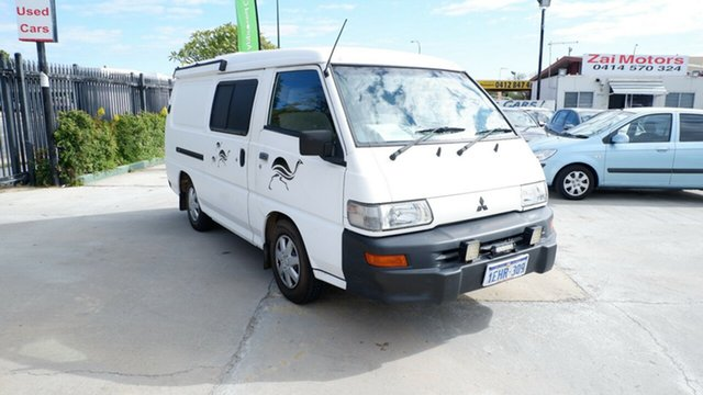 Used Mitsubishi Express SJ MY09 Window Van SWB, 2008 Mitsubishi Express SJ MY09 Window Van SWB White 5 Speed Manual Van