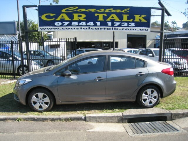 Used Kia Cerato YD MY15 S, 2015 Kia Cerato YD MY15 S Grey 6 Speed Automatic Sedan