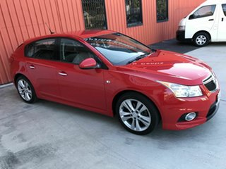 2014 Holden Cruze JH Series II MY14 SRi-V Red 6 Speed Sports Automatic Hatchback