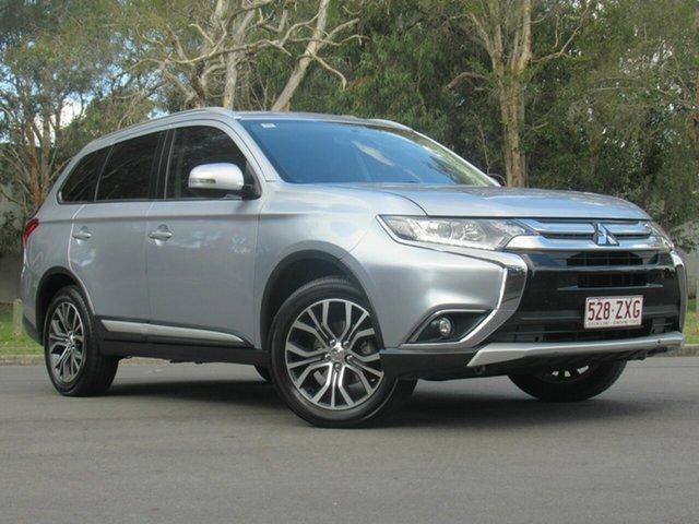 Used Mitsubishi Outlander ZK MY16 LS 4WD, 2016 Mitsubishi Outlander ZK MY16 LS 4WD Silver 6 Speed Constant Variable Wagon