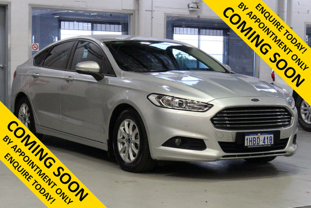 Used Ford Mondeo MD Ambiente TDCi, 2015 Ford Mondeo MD Ambiente TDCi Silver 6 Speed Automatic Hatchback