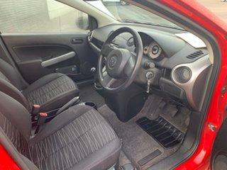2010 Mazda 2 DE10Y1 Neo Red 5 Speed Manual Hatchback