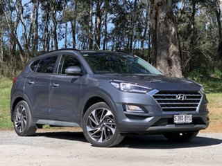 2019 Hyundai Tucson TL3 MY19 Highlander D-CT AWD Grey 7 Speed Sports Automatic Dual Clutch Wagon.