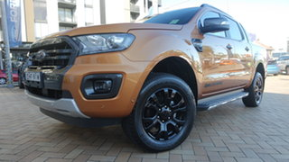 2019 Ford Ranger PX MkIII 2019.75MY Wildtrak Saber 10 Speed Sports Automatic Double Cab Pick Up.