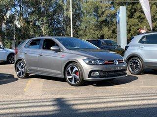 2020 Volkswagen Polo AW MY20 GTI DSG Grey 6 Speed Sports Automatic Dual Clutch Hatchback.