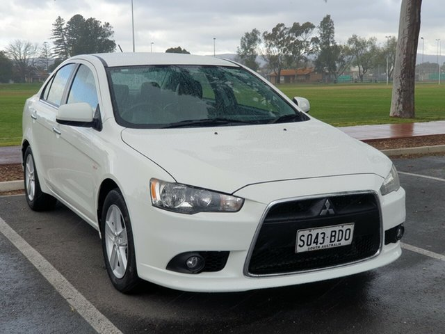 Used Mitsubishi Lancer CJ MY14.5 LX, 2014 Mitsubishi Lancer CJ MY14.5 LX White 5 Speed Manual Sedan