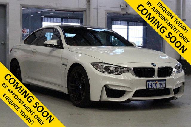 Used BMW M4 F82 LCI , 2015 BMW M4 F82 LCI White 7 Speed Auto Dual Clutch Coupe